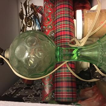 cute green lamp