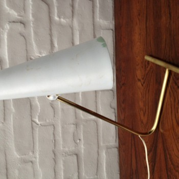 1960s French or Danish Desk Lamp