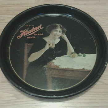 1915 Huebner Beer Tray