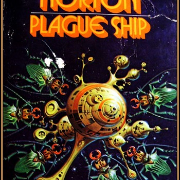 "BOOK - "" PLAGUE SHIP "" ( Andre Norton ) 1956 - Books"