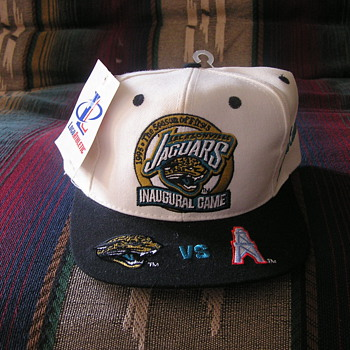 Jacksonville Jaguars Inaugural Game Hat