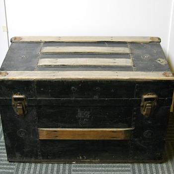 Child Trunk, Circa late 1800 - Furniture