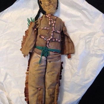 Early Native American Doll