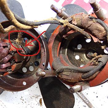HELP-- Antique Fan Motor - Electronics