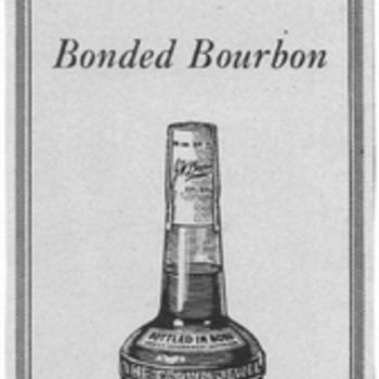 1954 J.W. Dant Bourbon Advertisement - Advertising