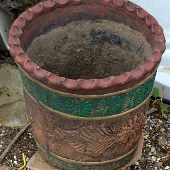 Interesting Mexican Planter / Pot