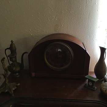Clock and radio