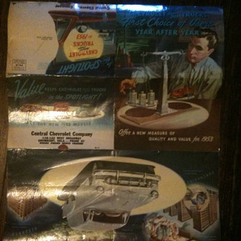 1953 Chevy Truck Ad, Poster &amp; Mailer - Advertising
