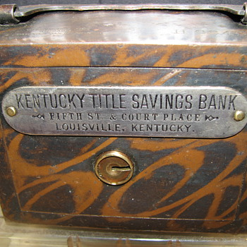 "Kentucky Title Saving Bank""Louisville,Kentucky""1895"