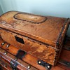 Antique Rawhide Trunk 1820's