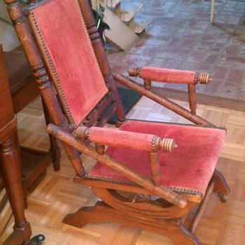 Platform Rocker - Furniture