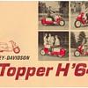 1964 - Harley Davidson Scooter Sales Brochure