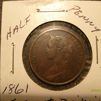 Great Britain Half Penny - World Coins