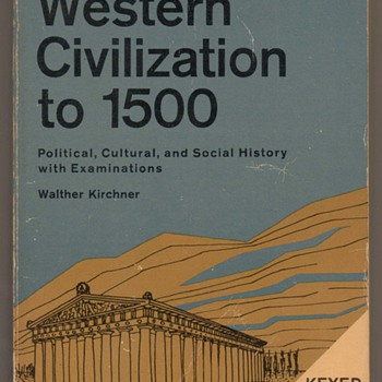 1970 - Western Civilization to 1500 - Books