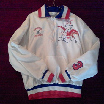 Vintage Budweiser Anheuser-Busch National Softball Champions Player Jacket - Breweriana