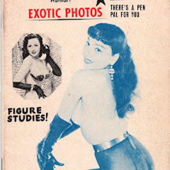 Burlesque &quot;Pitch Books&quot;  - Books