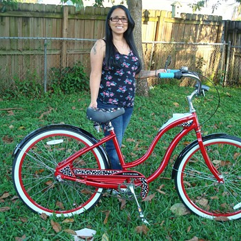My Red Schwinn Debutante