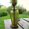 Art Glass Lamp Loetz ? Kralik ?