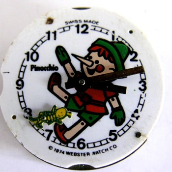 Pinocchio Wrist Watch - Wristwatches