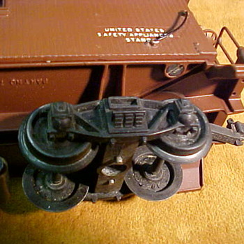Question about the wheels on Lionel 717 scale caboose - Model Trains