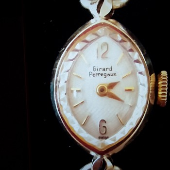 Ladies Girard Perregaux antique watch
