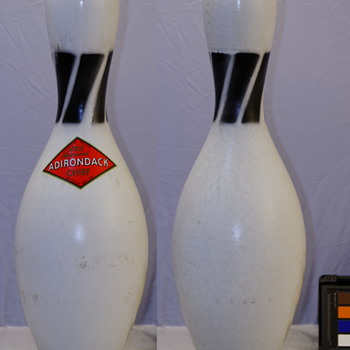 Vintage Adirondack Chief 10-pin Bowling Pin - Sporting Goods