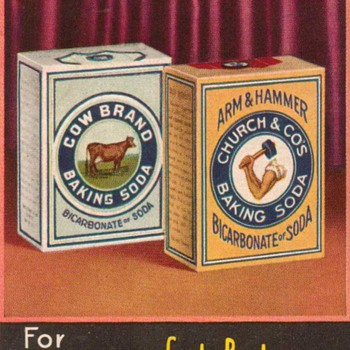 1933 - Arm & Hammer Advertisement - Advertising