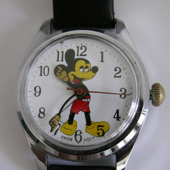 Mickey Mouse Swiss - Wristwatches