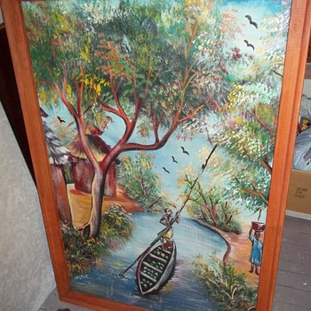 Help identify this painting... - Folk Art