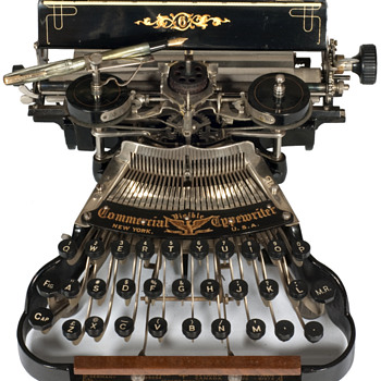 Commercial Visible typewriter - 1898 - New York - Office