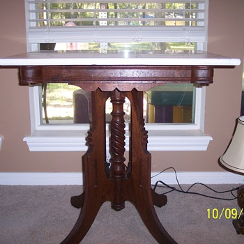 Eastlake side table? - Furniture