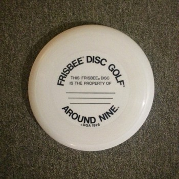 WhamO Around Nine DGA golf disc-THE original