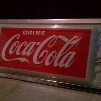 Original Coca-Cola Vending Signage