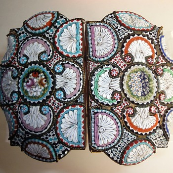 Large Micro Mosaic Belt Buckle