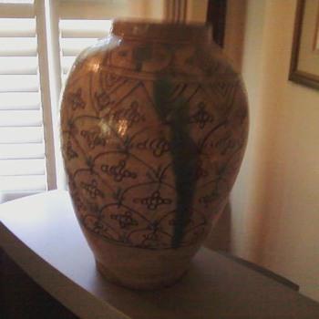 Salt Glaze Vase - Pottery