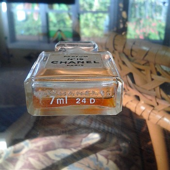 How rare is this 1971 Chanel 19 parfum bottle 1/3 full