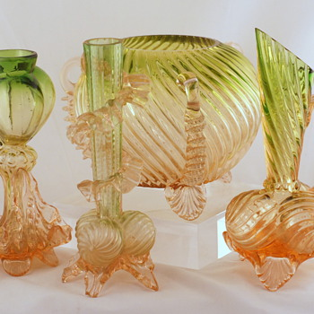 Welz Shapes and Décors - A Few More Groups - Art Glass