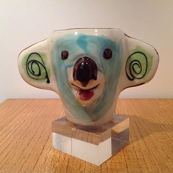 FREYA POVEY - ADELAIDE - KOALA MUG - Art Pottery