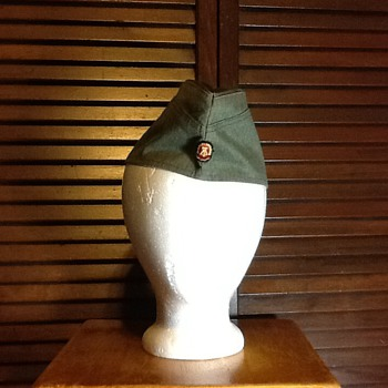 East German side cap