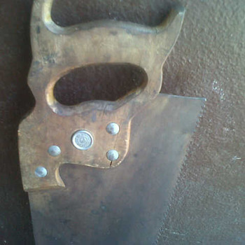 "My antique saw""s"