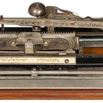 Alexis Typewriter - 1890