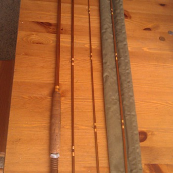 Vintage 3 Piece Fly Fishing Rod