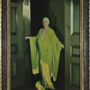 """The Green Lady""  Cornelia ""Nell"" Flint Cousins Egan Dark Shadows Connection - Visual Art"