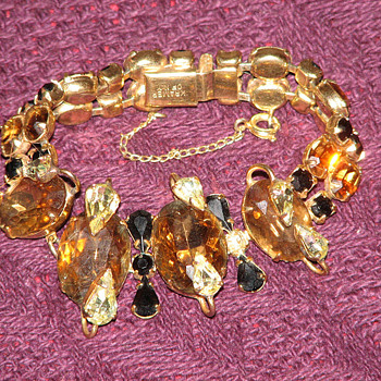 Kramer of NY bracelet....Can anyone tell me more about this piece? - Costume Jewelry