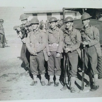"Pre WWII US Army photo...""Boys will be boys..."" 3"" X 4"""
