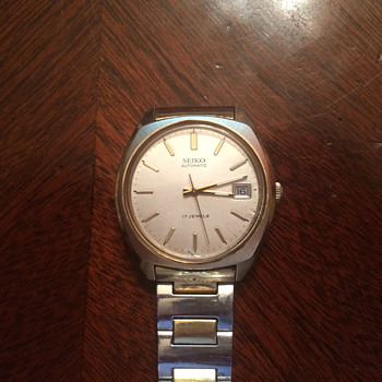 "The Only Wristwatch I Will Ever Need: My Grandfather's ""Sunday Watch."" A 1975 Seiko."