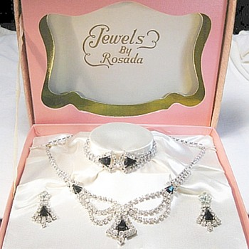 Rosada Set, Nor Familiar With This Company?? - Costume Jewelry