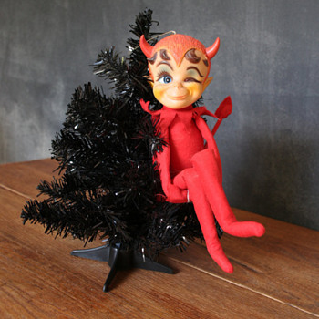 1968 &quot;Dikkens&quot; Devil Doll by Kamar