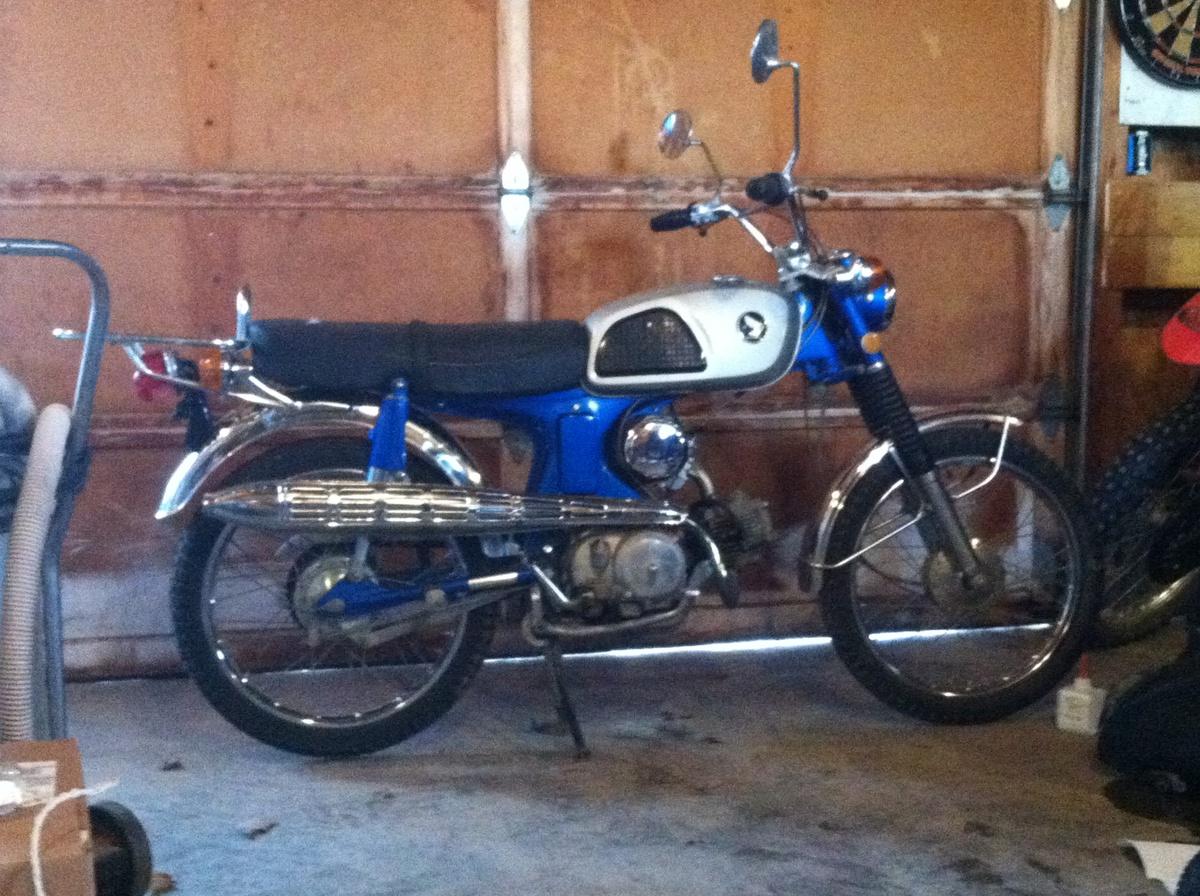 1969 honda cl90 for Factory motor parts portland