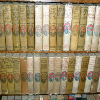 The Tom Swift Series 1910-1941 - Books